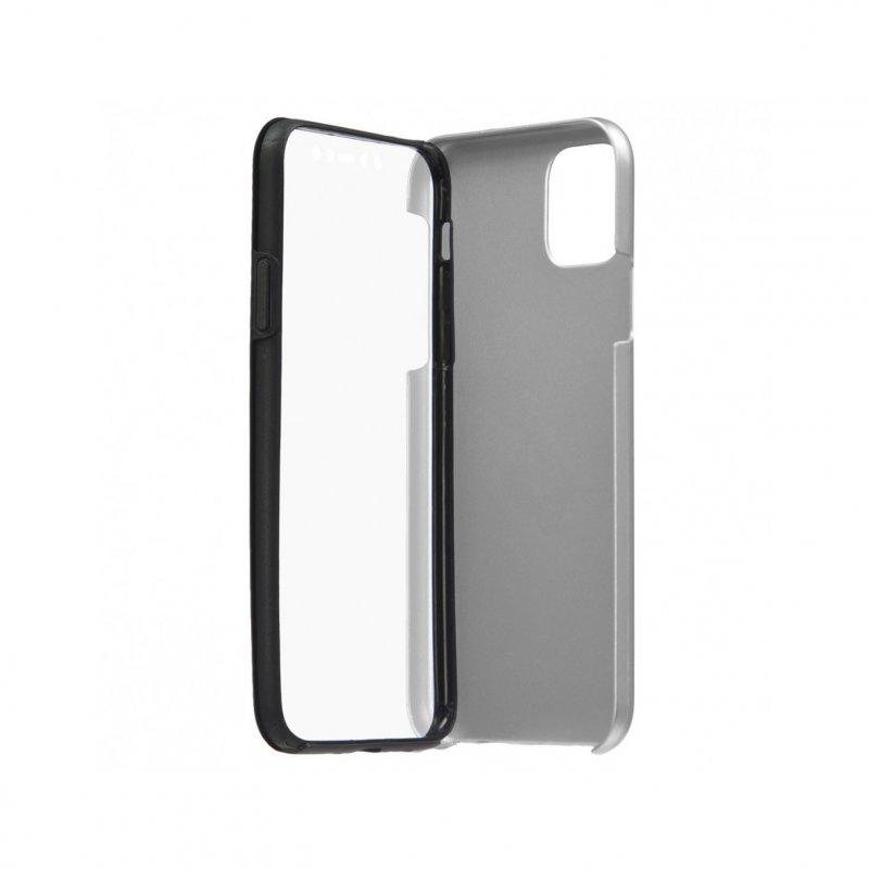 Funda Cromada con Tapa Plata para iPhone 11