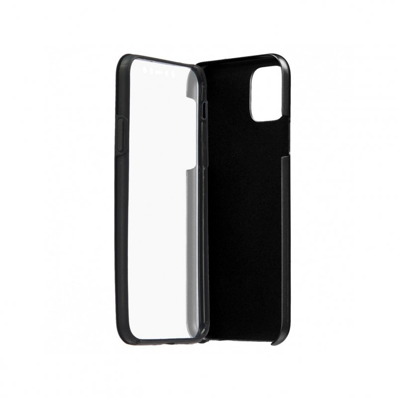 Funda Cromada con Tapa Negra para iPhone 11 Pro Max