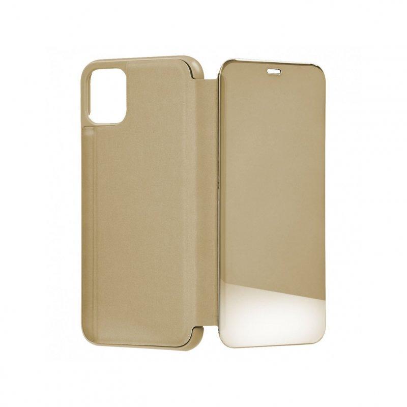 Funda libro Espejo Oro para iPhone 11 Pro Max