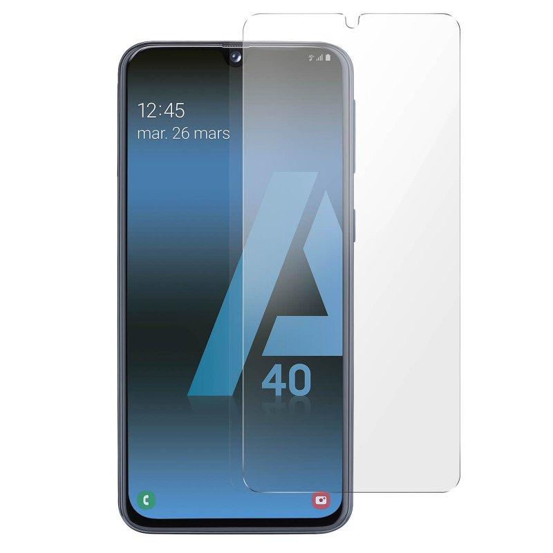 Avizar Protector Cristal Templado Transparente para Samsung Galaxy A40