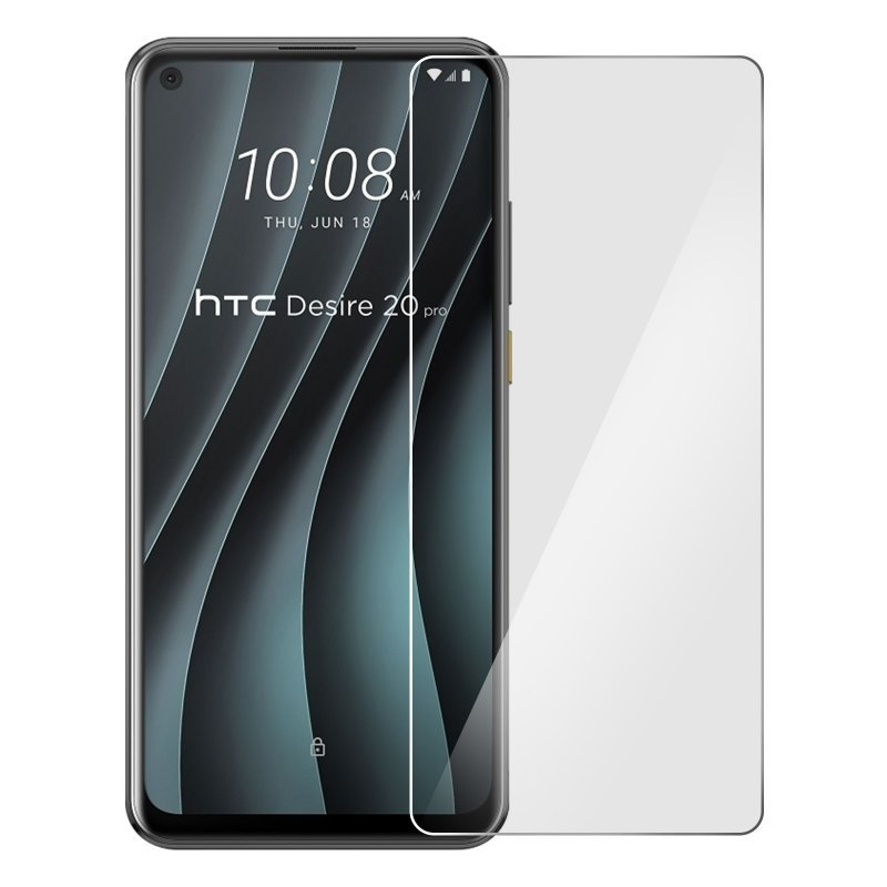 Avizar Protector Cristal Templado Transparente para HTC Desire 20 Pro