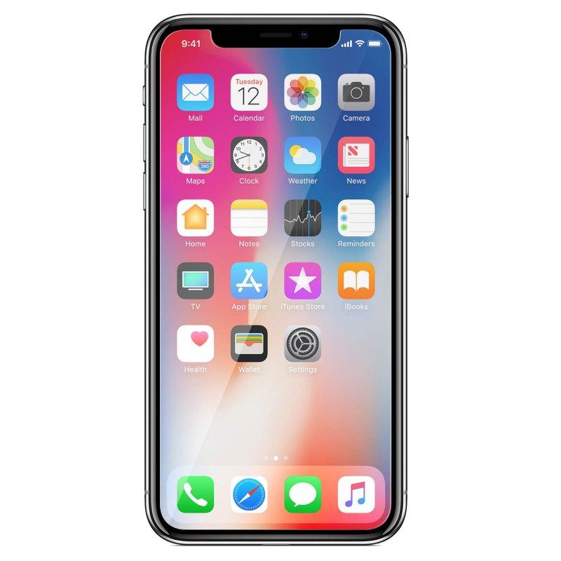 Avizar Protector Cristal Templado Transparente para Apple iPhone XS