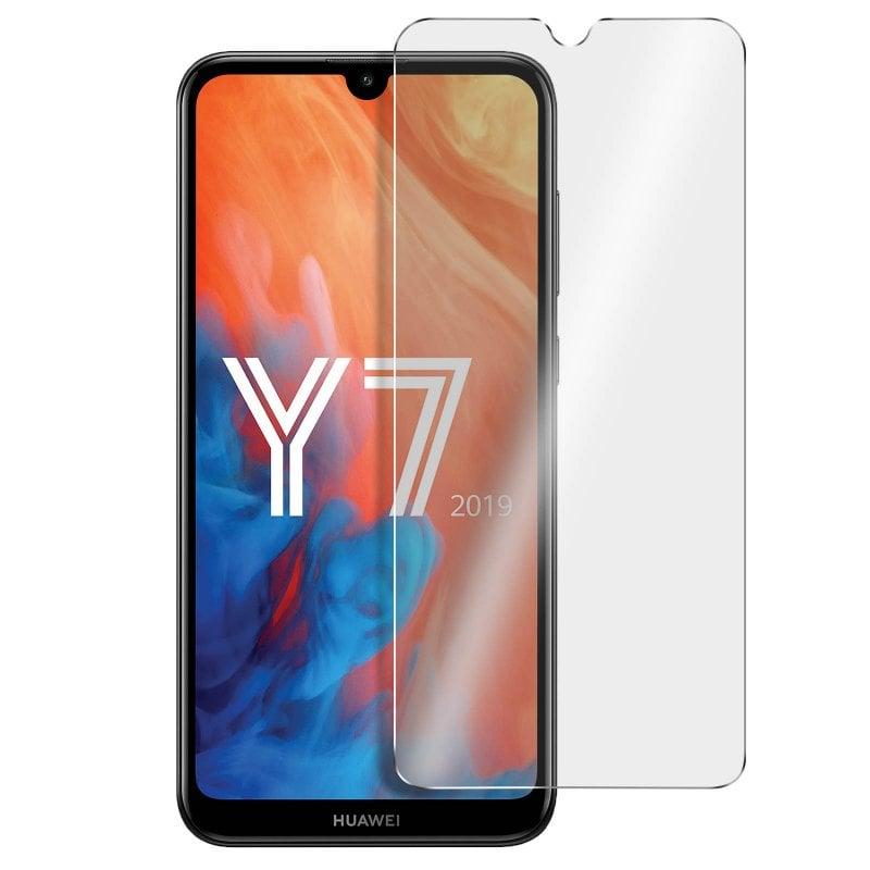 Avizar Protector Cristal Templado Transparente para Huawei Y7 2019
