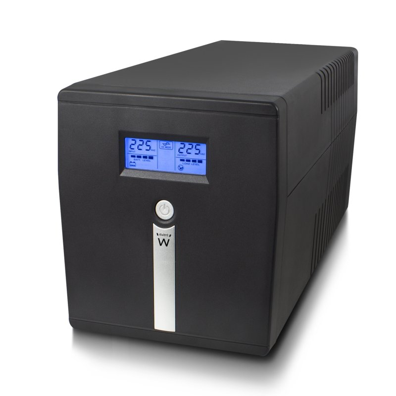 Ewent SAI 1000VA-600W con AVR y Pantalla LCD