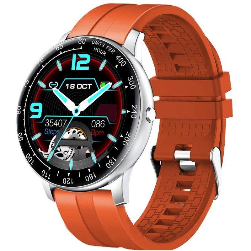 InnJoo Inspire Smartwatch Plata/Naranja