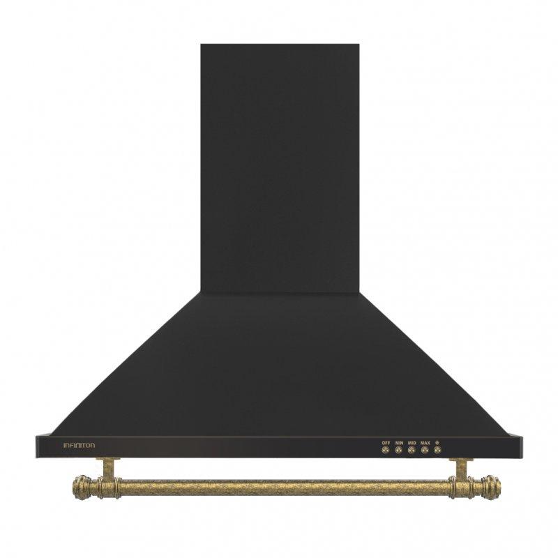 Infiniton CMPP-RU61 Campana Decorativa 60cm Negra