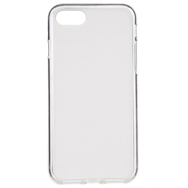 Funda Silicona Lisa Blanca Para IPhone 7