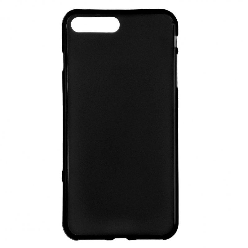Funda Silicona Lisa Negra Para IPhone 7 Plus