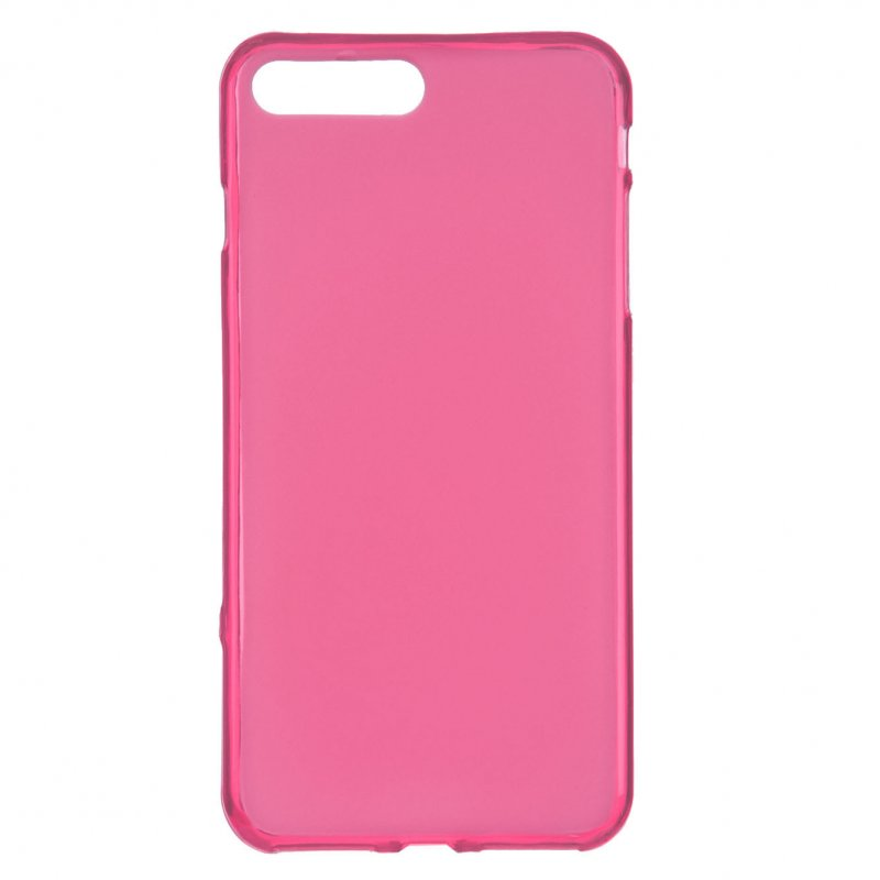 Funda Silicona Lisa Rosa Para IPhone 7 Plus