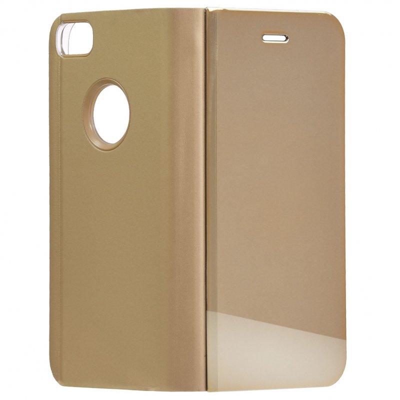 Funda Libro Espejo Oro Para IPhone 7