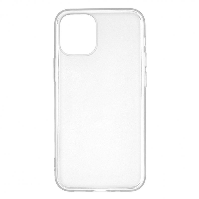 Funda Silicona Lisa Blanca Para IPhone 12