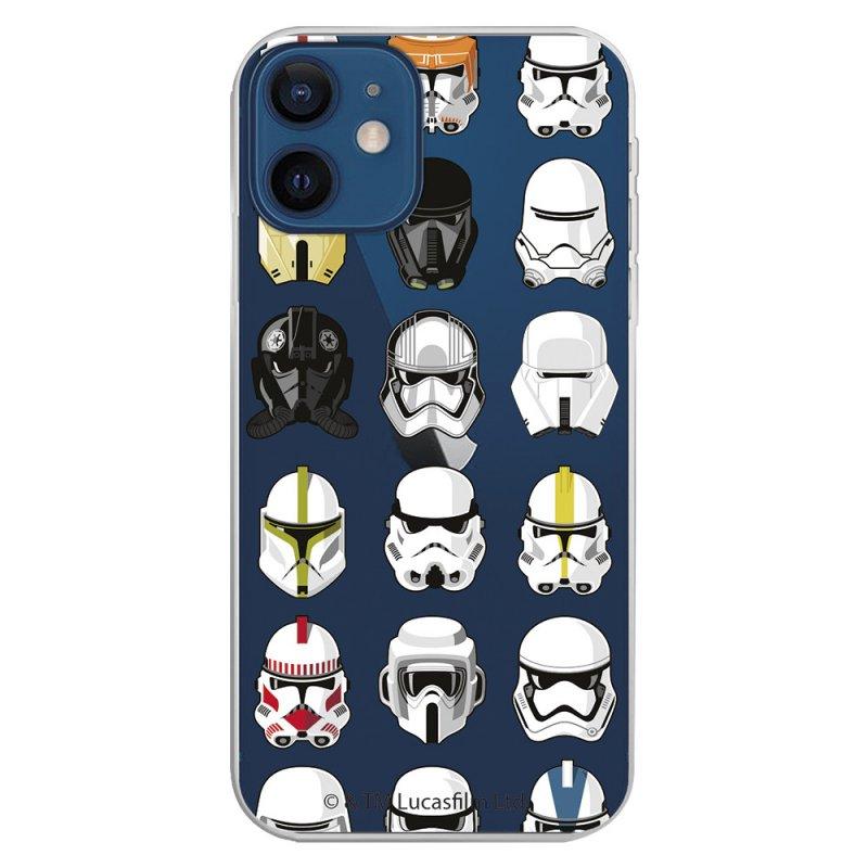 Funda Oficial de Star Wars Patrón Cascos Star Wars para iPhone 12