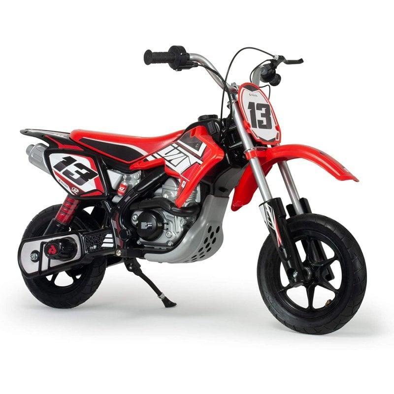 Injusa Red Fighter Moto Eléctrica 24V Roja