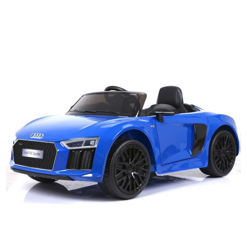 RunRunToys Audi R8 Coche Eléctrico 12V Azul