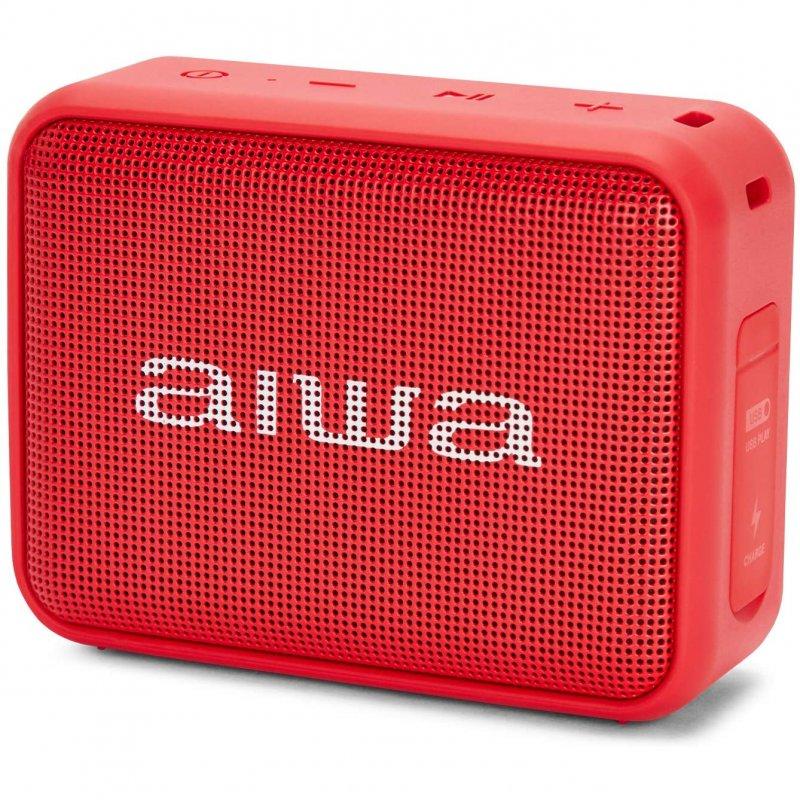 Aiwa BS-200 Altavoz Bluetooth 6W Rojo