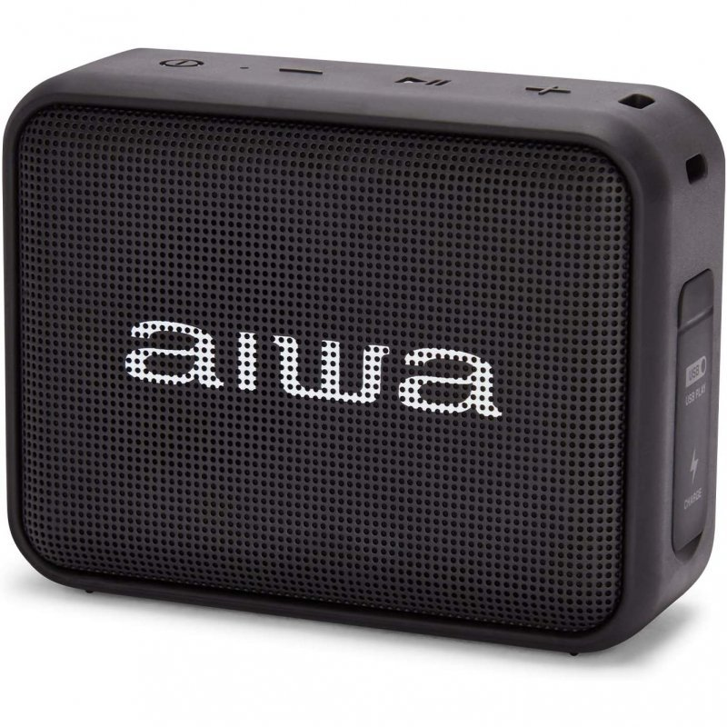 Aiwa BS-200 Altavoz Bluetooth 6W Negro