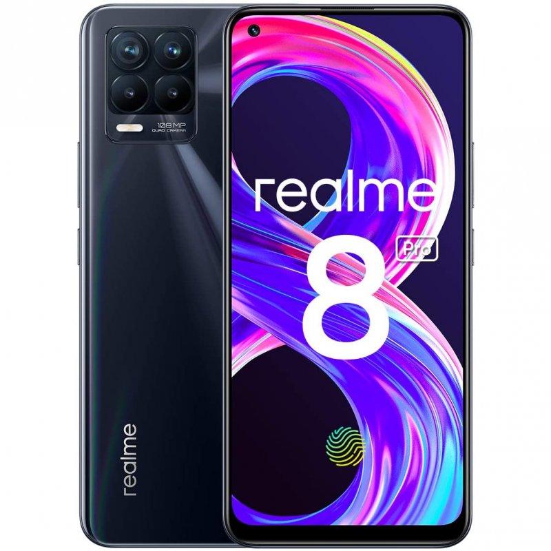 Realme 8 Pro 8/128GB Negro Punk Libre