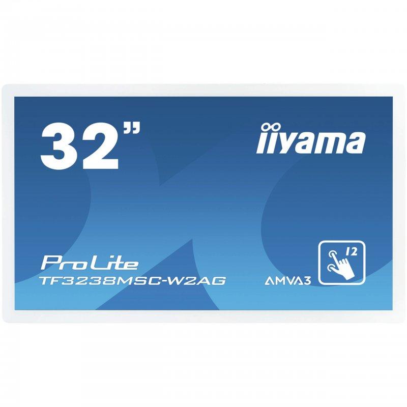 "Monitor iiyama ProLite TF3238MSC-W2AG 31.5"" LED FullHD Táctil"