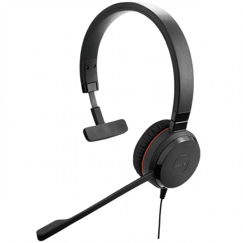 Jabra Evolve 30 II Auricular Monoaural USB-C Negro
