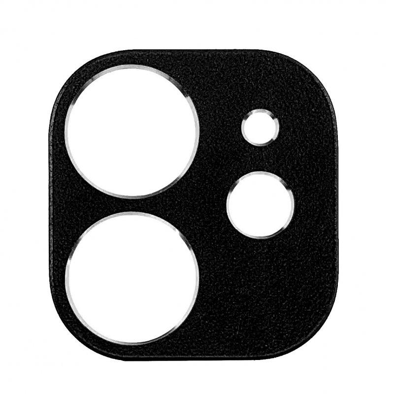 Protector de Cámara Metálico para iPhone 11 Negro
