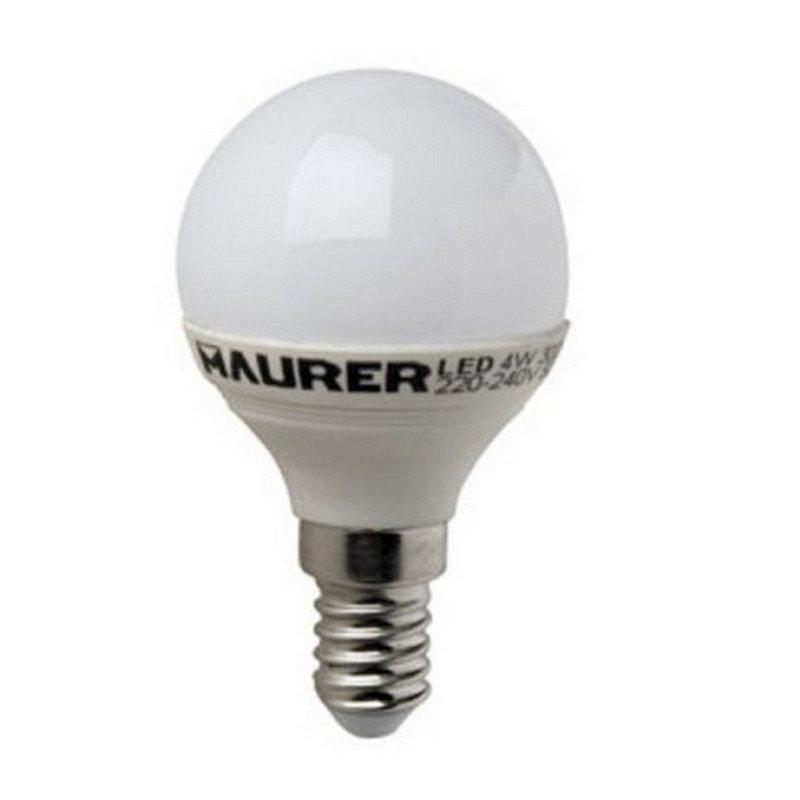 Maurer Bombilla LED 4W E14 Blanco Cálido