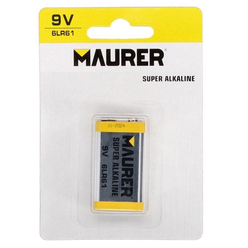 Maurer Pila Alcalina 6LR61 9V