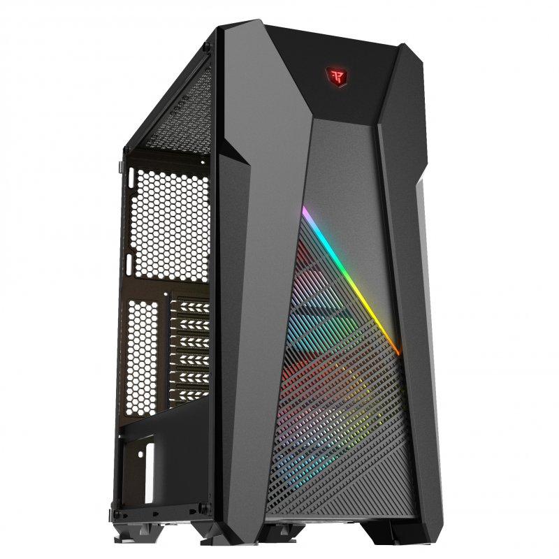 Tempest Vapor USB 3.0 con Ventana RGB Negro