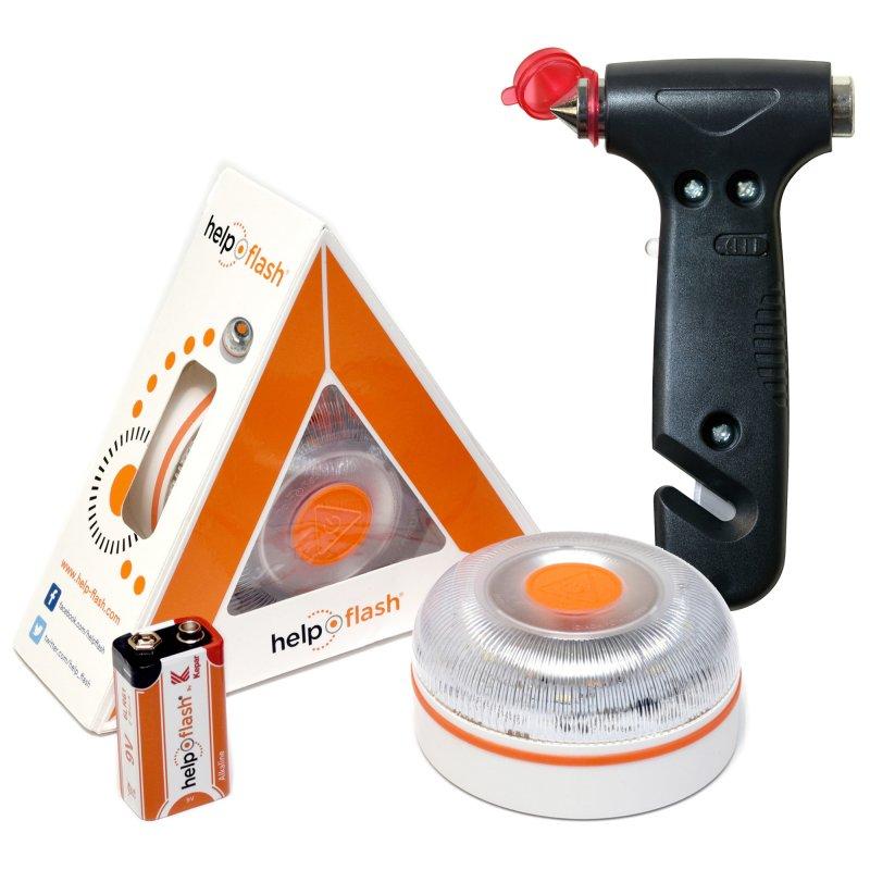 help flash v20 dispositivo de senalizacion v16 homologado dgt  martillo de emergencia