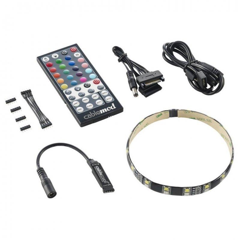 CableMod WideBeam Hybrid Kit Tira LED RGB/W 30cm