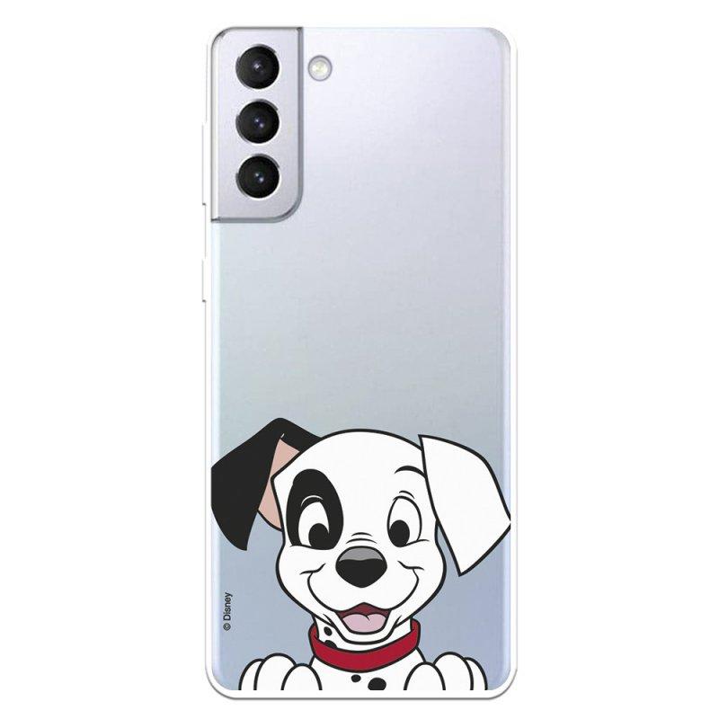 Funda Oficial de Disney Cachorro Sonrisa 101 Dálmatas para Samsung Galaxy S21 Plus