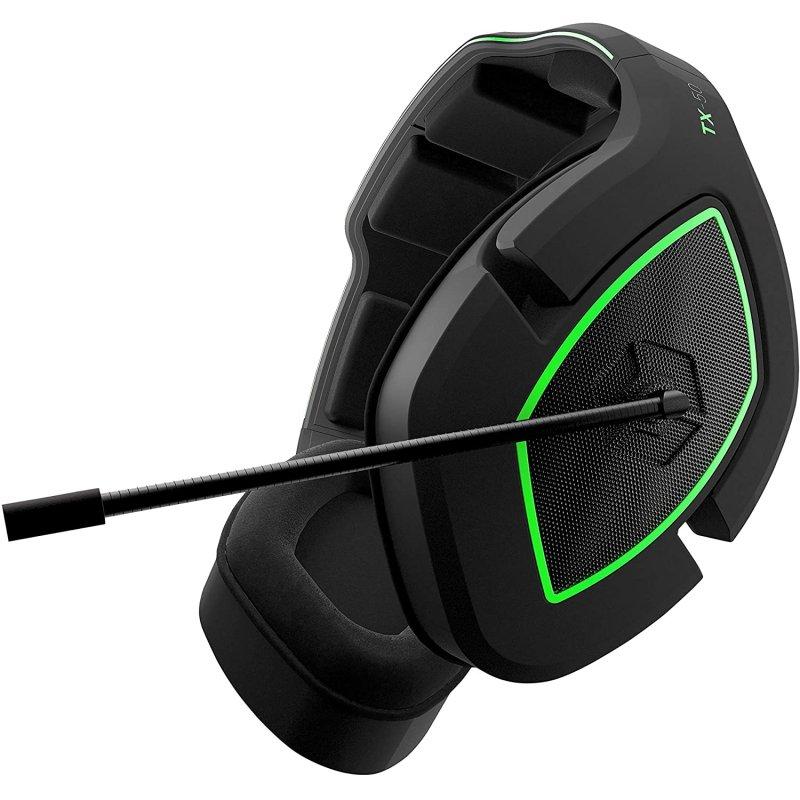 Gioteck TX-50 Auriculares Gaming Multiplataforma Negro/Verde