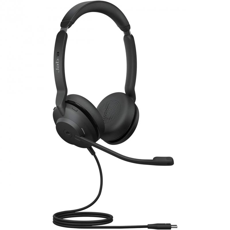 Jabra Evolve2 30 MS Auriculares Con Micrófono USB-C Negro