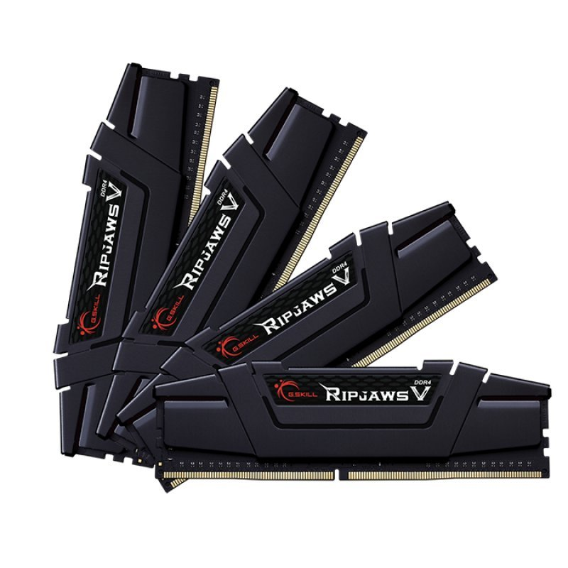G.Skill Ripjaws V DDR4 3600MHz PC4-28800 64GB 4x16GB CL14
