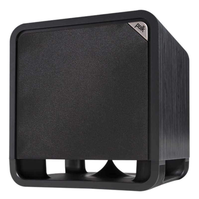 Polk Audio HTS 10 Subwoofer con Amplificador ClaseD 200W Negro