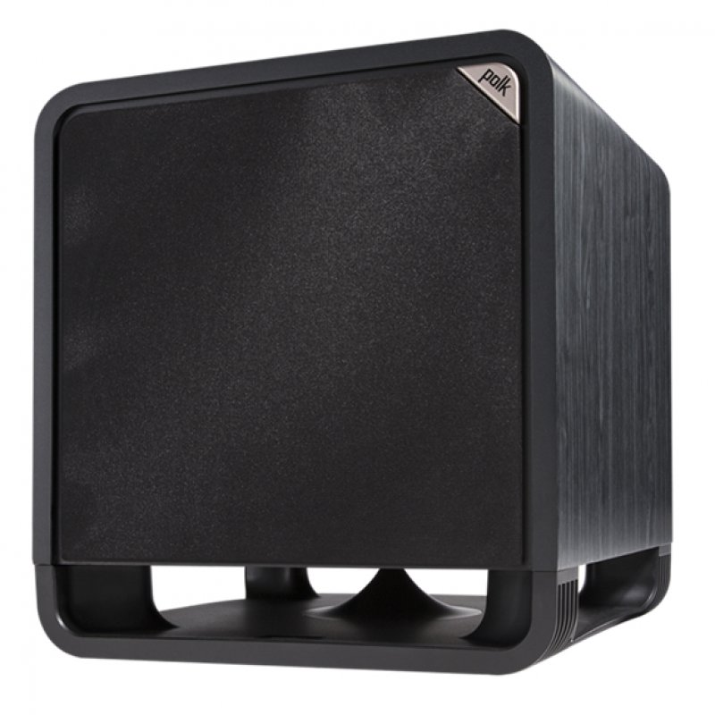 Polk Audio HTS 12 Subwoofer con Amplificador ClaseD 400W Negro
