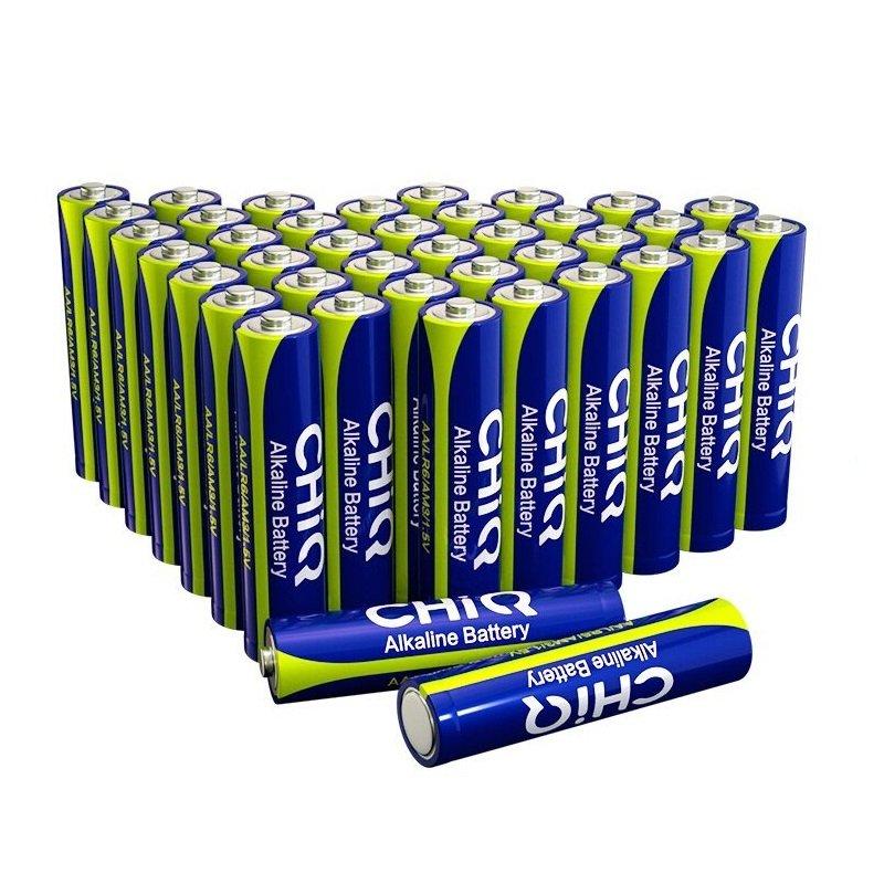 CHiQ Pack 40 Pilas Alcalinas AAA LR03
