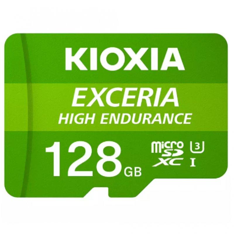 Kioxia Exceria High Endurance MicroSDXC 128GB UHS-I V30 Clase 10