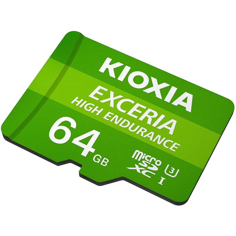 Kioxia Exceria High Endurance MicroSDXC 64GB UHS-I V30 Clase 10 | PcComponentes.com