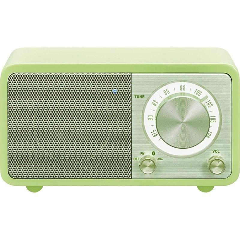 Sangean WR-7 Radio Portátil Bluetooth Verde