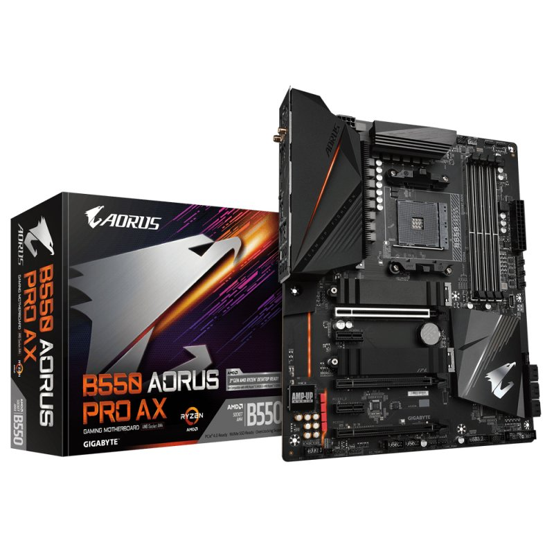 Gigabyte B550 Aorus Pro AX
