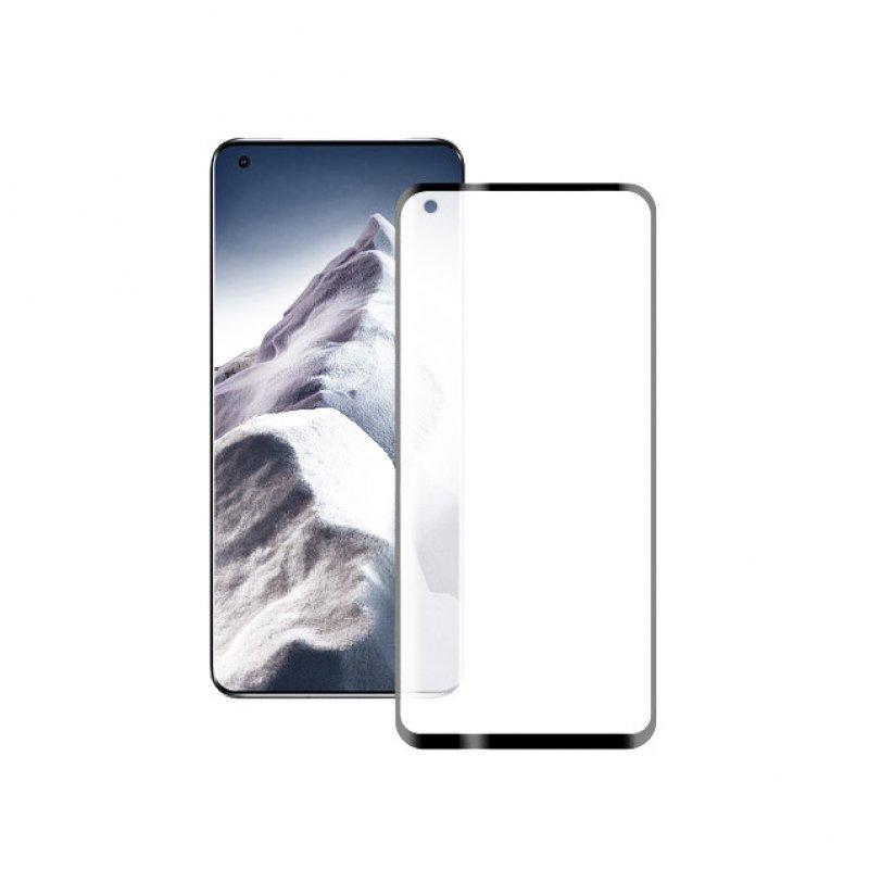 Mobile Tech Cristal Templado Extreme 3D 9H Borde Negro para Xiaomi Mi 11 Pro