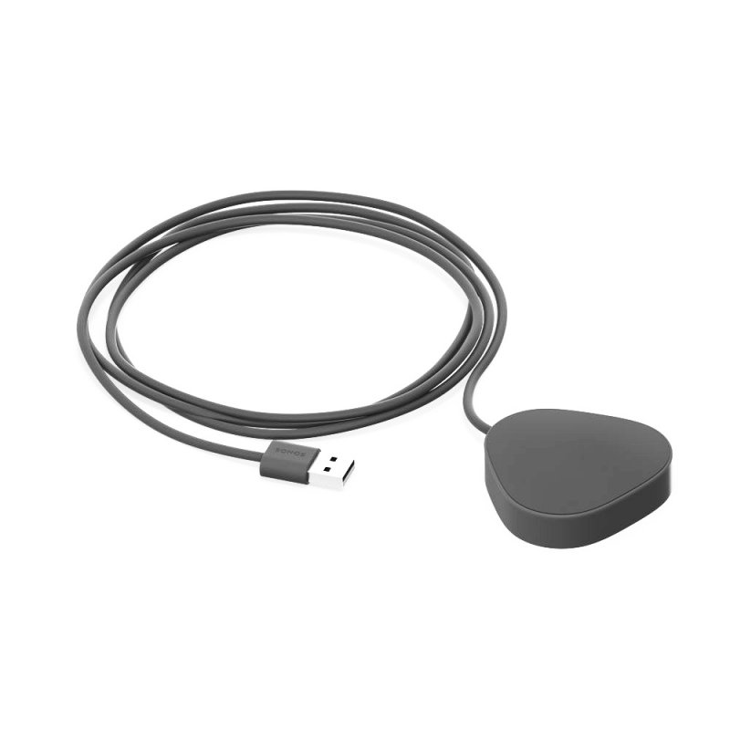 Sonos Cargador Inalámbrico Negro para Altavoz Roam