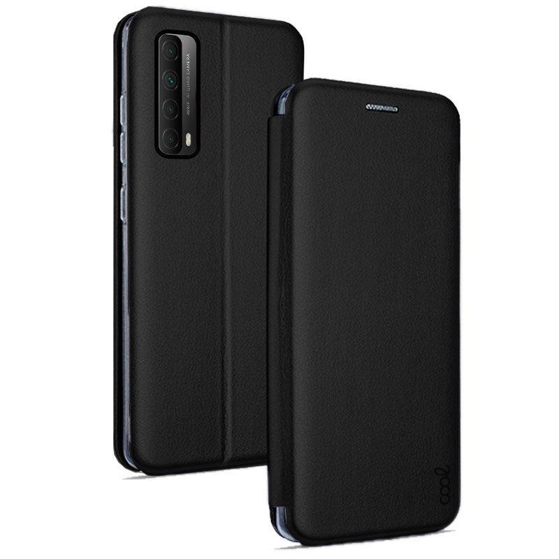 Cool Funda Flip Cover Elegance Negro Para Huawei P Smart 2021