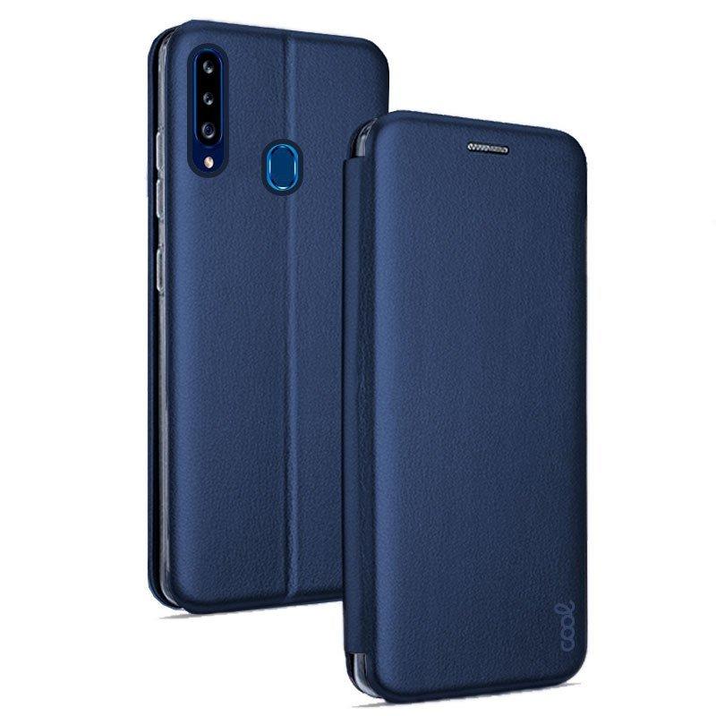Cool Funda Flip Cover Elegance Marino Para Samsung Galaxy A20s
