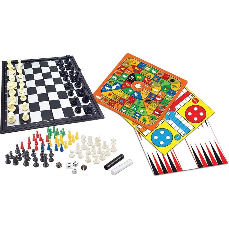Lexibook Tablero Magnético 8 Juegos en 1