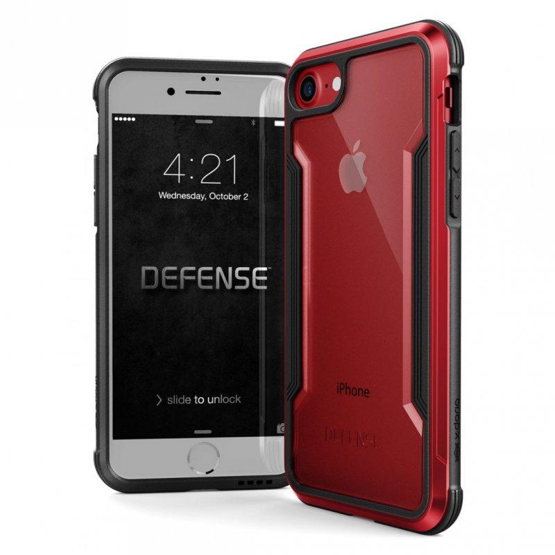 Raptic Funda Shield Roja para iPhone 6/7/8/SE 2020