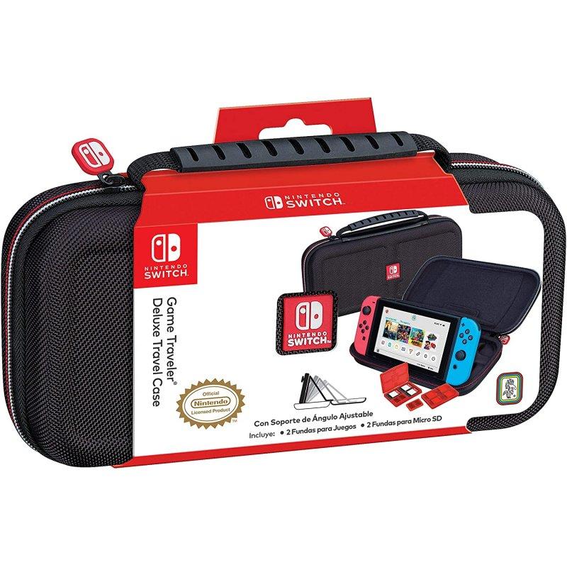 Ardistel NNS40 Travel Case Deluxe Negro para Nintendo Switch