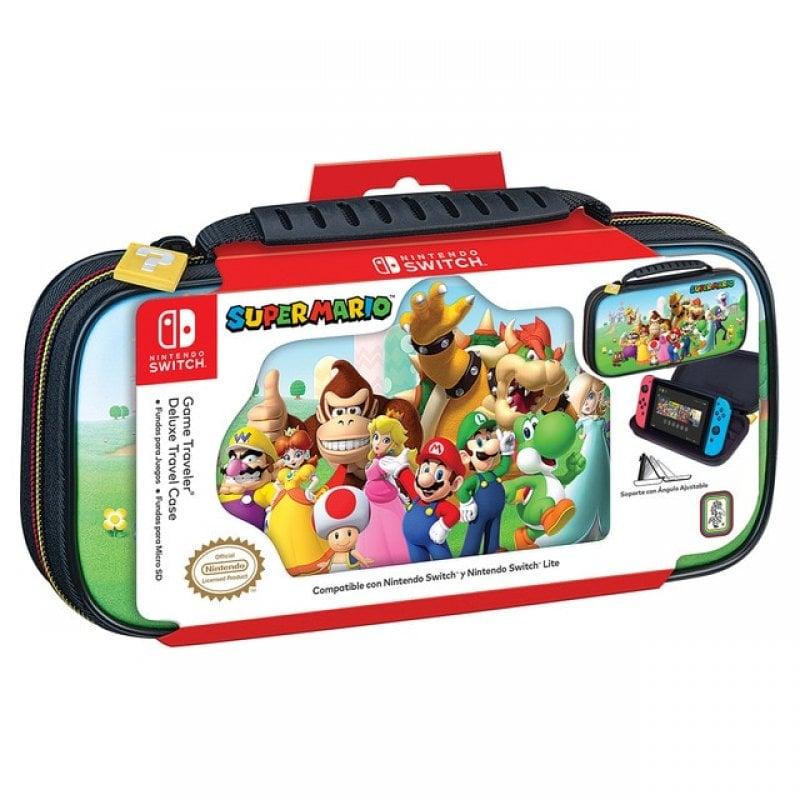 Ardistel NNS53A Travel Case Deluxe SuperMario Para Nintendo Switch