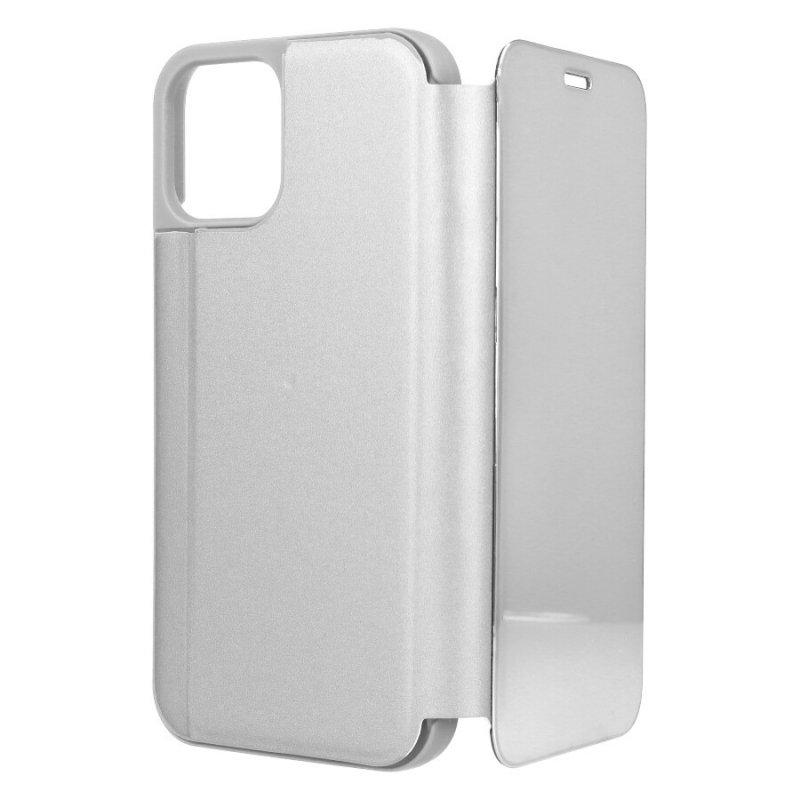 Funda Espejo Plata Para IPhone 12