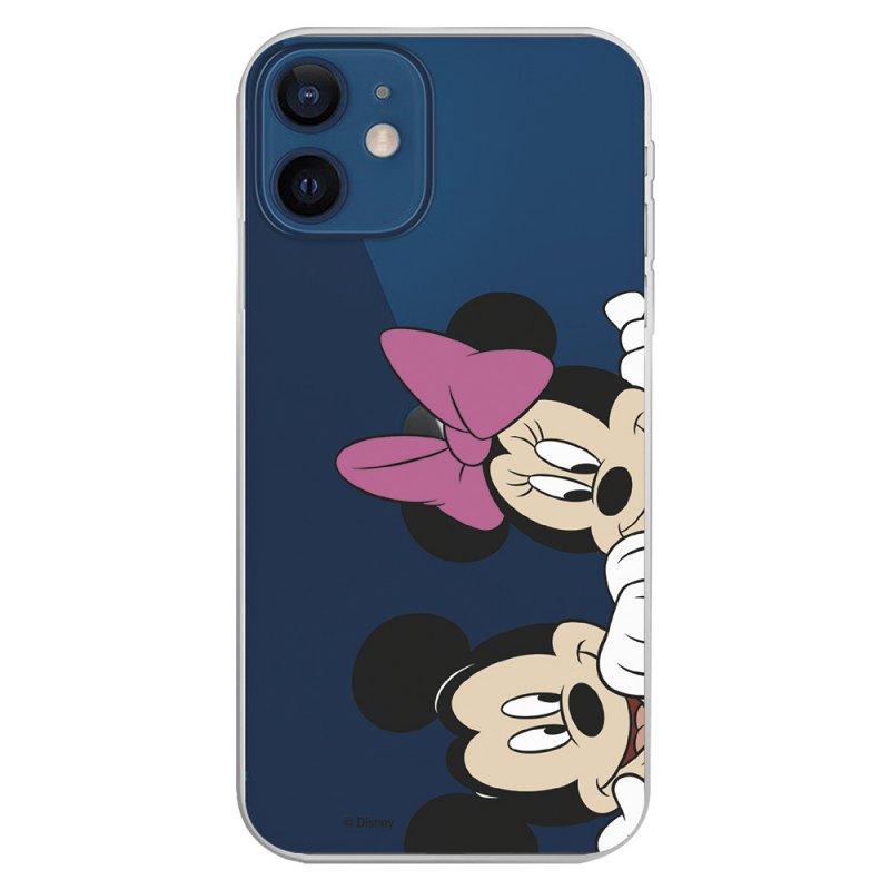 Funda Oficial de Disney Mickey y Minnie Asomados Clásicos Disney para iPhone 12